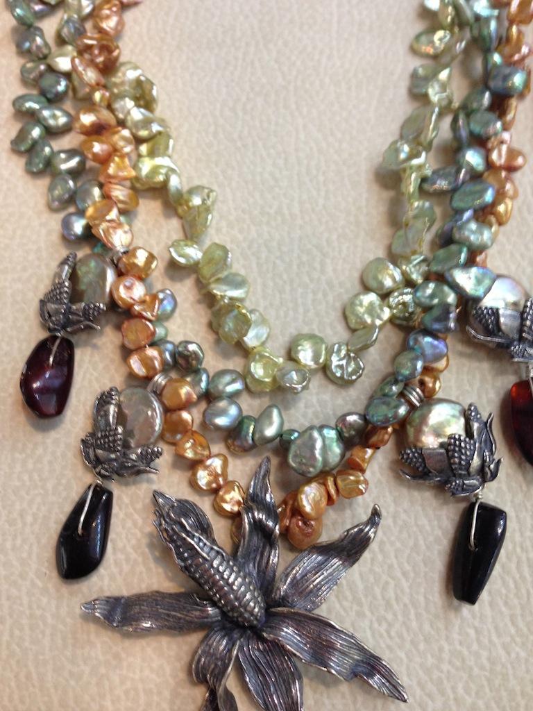 Collar mazorcas Flora María