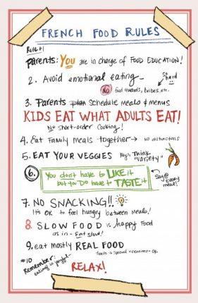 hijos coman de todo