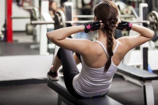 Fuera mitos en el gimnasio