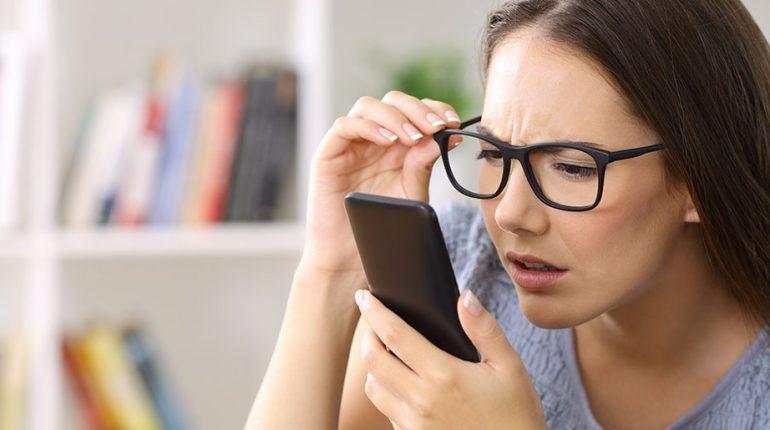celular daña la vista