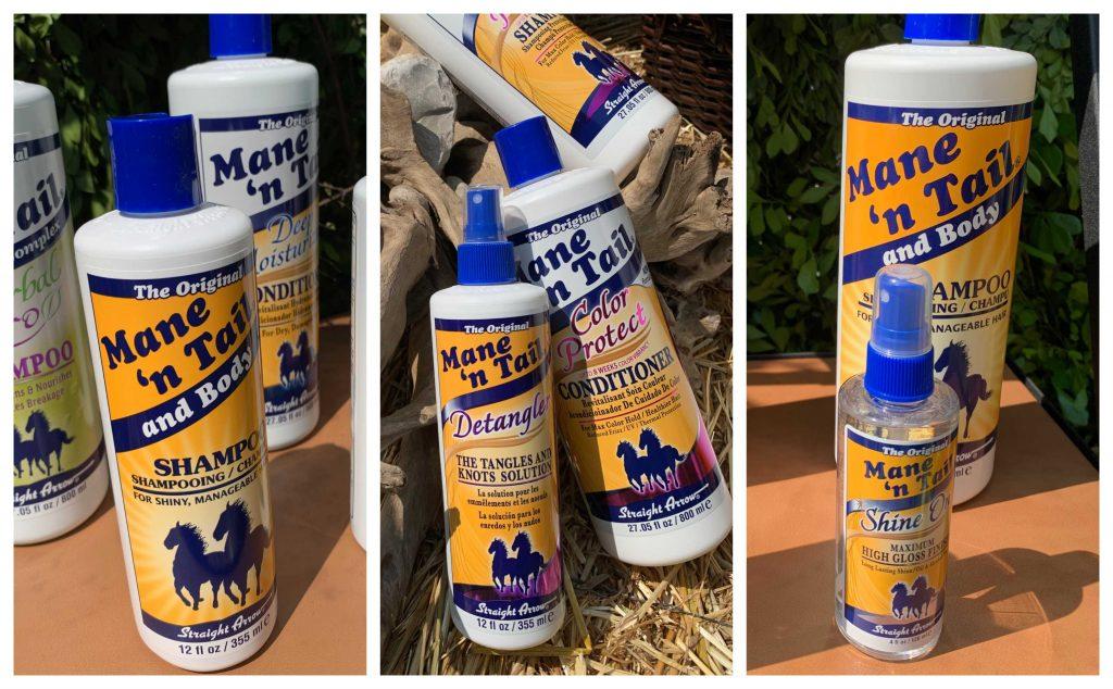 shampoo para caballos
