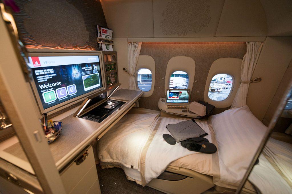 Primera clase Emirates
