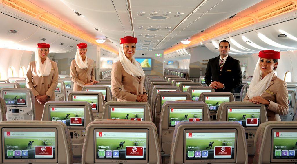 Emirates llega a Mexico
